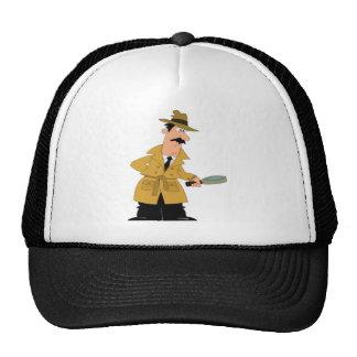 investigateur de bande dessinée ouais casquette trucker