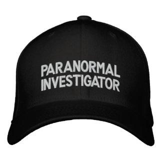Investigateur paranormal casquettes brodées