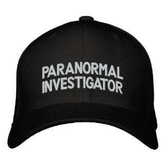 Investigateur paranormal casquette brodée