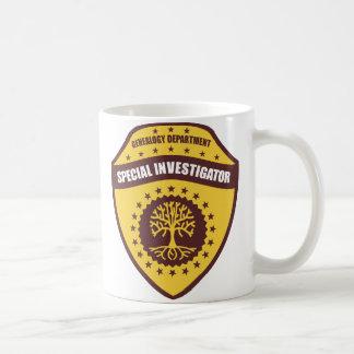 Investigateur spécial mug