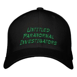 Investigateurs paranormaux sans titre casquette brodée