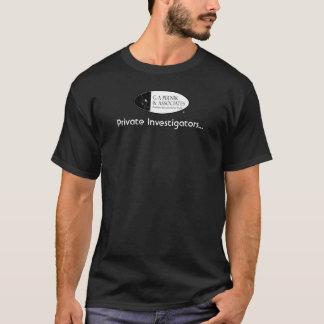 Investigateurs privés (pour les dames) t-shirt