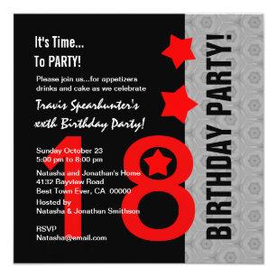 invitations faire part cartes anniversaire 18 ans