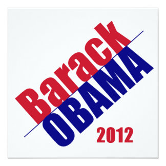 Invitation 2012 d'Obama