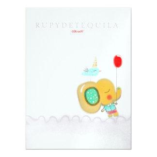 Invitation 2013 de garçon d'éléphant