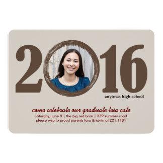 Invitation 2016 d'obtention du diplôme