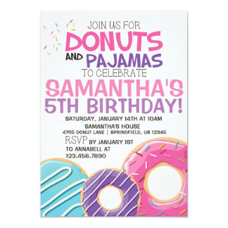 Invitation | 5x7 d'anniversaire de butées toriques
