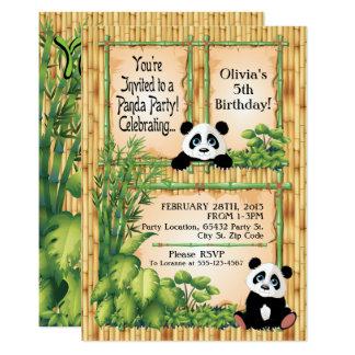 Invitation adorable de fête d'anniversaire d'ours