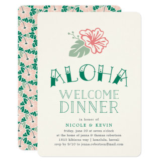 Tropical Wedding Invitation with nice invitations example