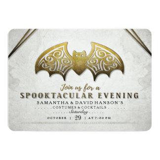 Invitation blanc de soirée de Spooktacular de