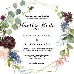 Invitations Faire Part Cartes Mariage Espagnol Zazzlefr