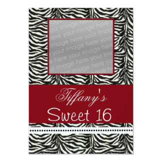 Invitation chic de photo de partie de sweet