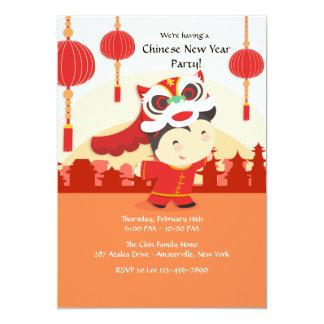 Invitation chinoise de célébration