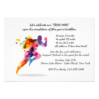 Invitation courante d'homme
