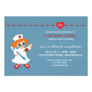 Invitation d obtention du diplôme d infirmière