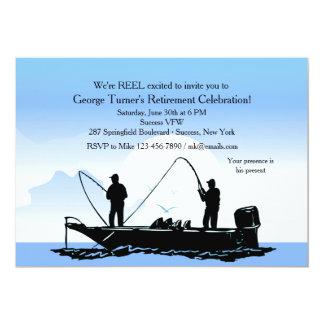 Invitation d'amis de pêche