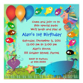 Invitation d'anniversaire : 002