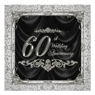 Invitation d'anniversaire de noces de diamant
