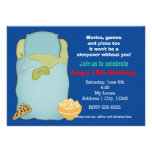 Invitation d'anniversaire de soirée pyjamas de Sle