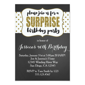 Invitations - Invitation anniversaire surprise ...