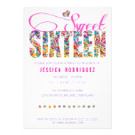 Invitation d'anniversaire de sweet sixteen de thèm