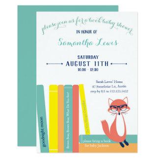 Invitation de baby shower de livre de région