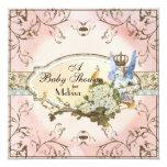 Invitation de baby shower - princesse enchantée de
