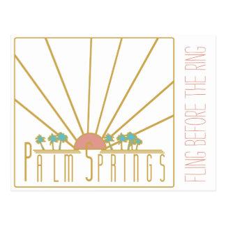 Invitation de Bachelorette de Palm Springs