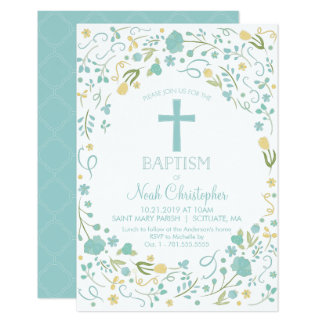 Invitation de baptême, invitation de baptême,