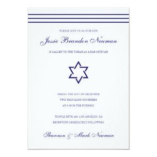 Invitation de bat mitzvah de Mitzvah de barre de