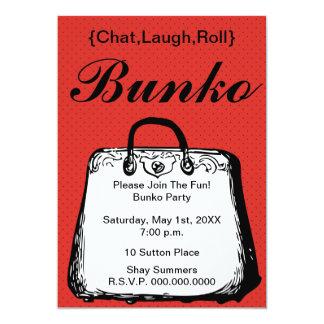 Invitation de bourse de nuit de Bunko