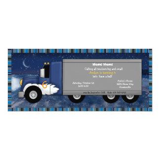 Invitation de camionneur de glace