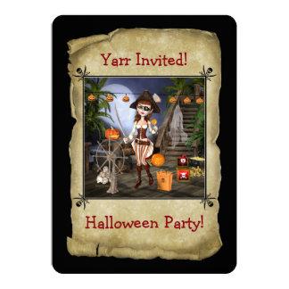 Invitation de carte de partie de Halloween de