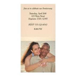 Invitation de carte photo d'anniversaire photocarte customisée