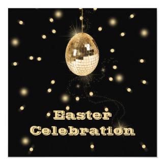 Invitation de célébration de partie d'oeuf de