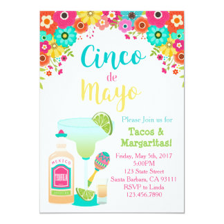 Invitation de Cinco De Mayo