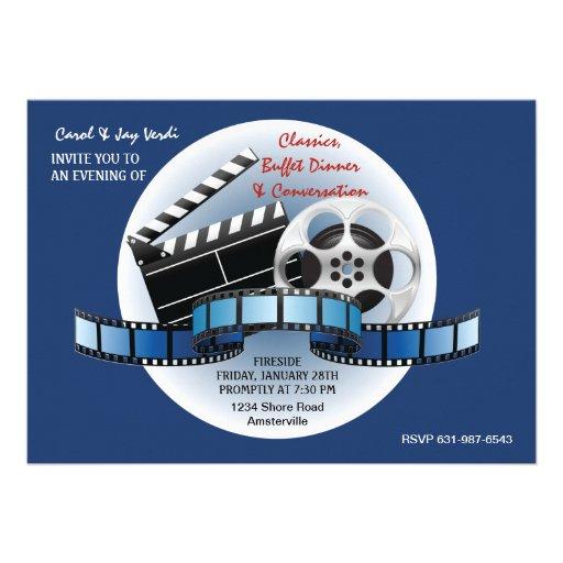 Invitation de classiques de film