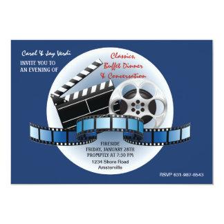 Invitation de classiques de film carton d'invitation  12,7 cm x 17,78 cm