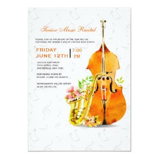 Invitation de concert de ressort