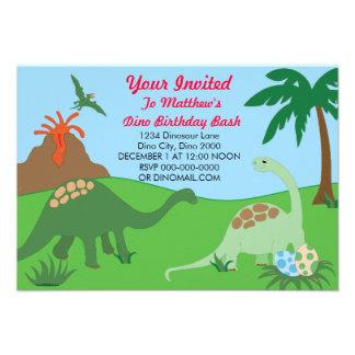 invitations anniversaire de dinosaure faire part anniversaire de dinosaure cartons d. Black Bedroom Furniture Sets. Home Design Ideas