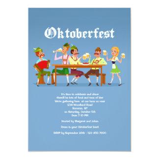 Invitation de coup d'Oktoberfest