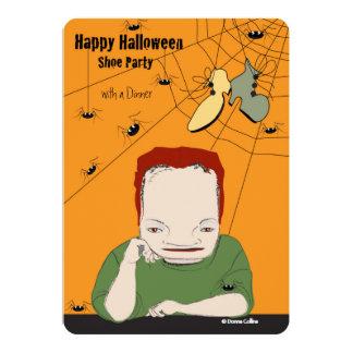 Invitation de dîner de Halloween