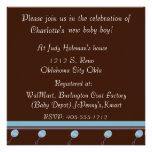 Invitation de douche de bébés de chocolat