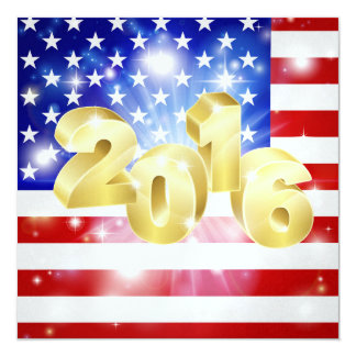Invitation de drapeau américain - SRF