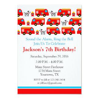 Invitation de fête d'anniversaire de