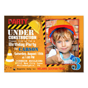 Invitations & Faire-part Chantier | Zazzle.fr