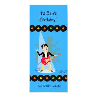 Invitation de fête d'anniversaire de garçon de