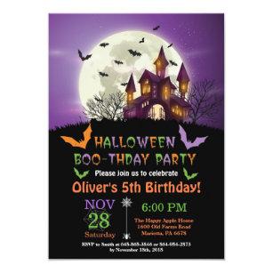 10 Gothic Invitation Carte Enveloppe Fête Style Vintage Halloween Thème Anniversaire