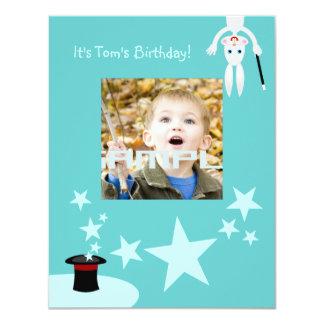 Invitation de fête d'anniversaire d'enfant de