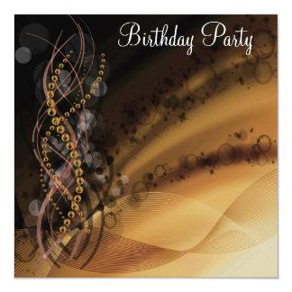 Invitation de fête d'anniversaire tout